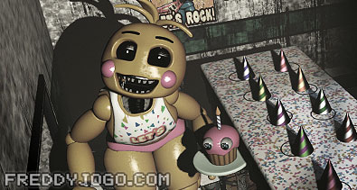 Toy Chica's Cupcake